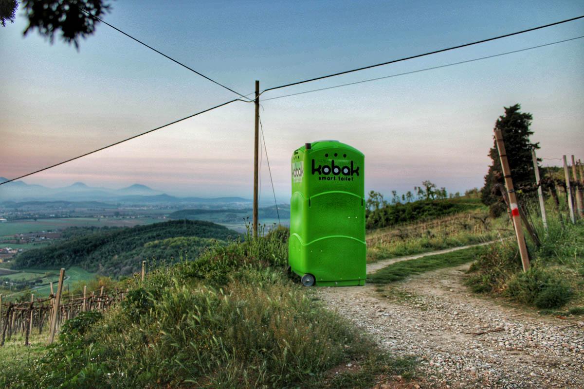 WC chimici Kobak Vicenza Padova